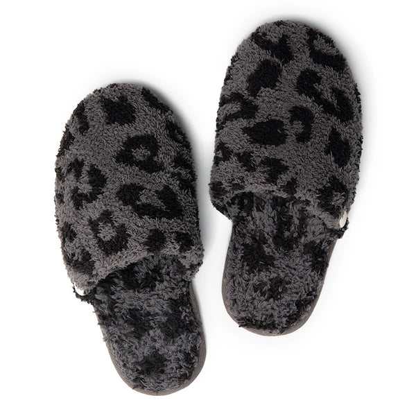 Barefoot Dreams® CozyChic® Barefoot in the Wild® Leopard Slippers