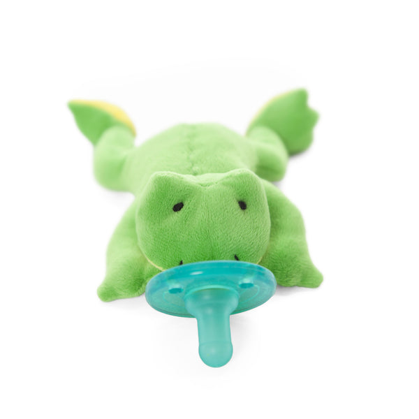 WubbaNub® Infant Pacifier - Green Frog