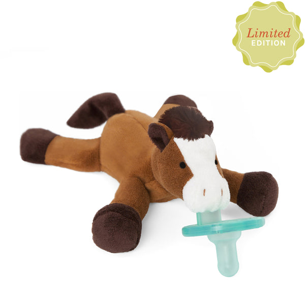 WubbaNub® Infant Pacifier - Horse
