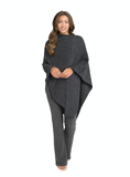 Barefoot Dreams® CozyChic Lite® Cable Poncho