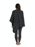 Barefoot Dreams® CozyChic® Barefoot in the Wild® Leopard Poncho