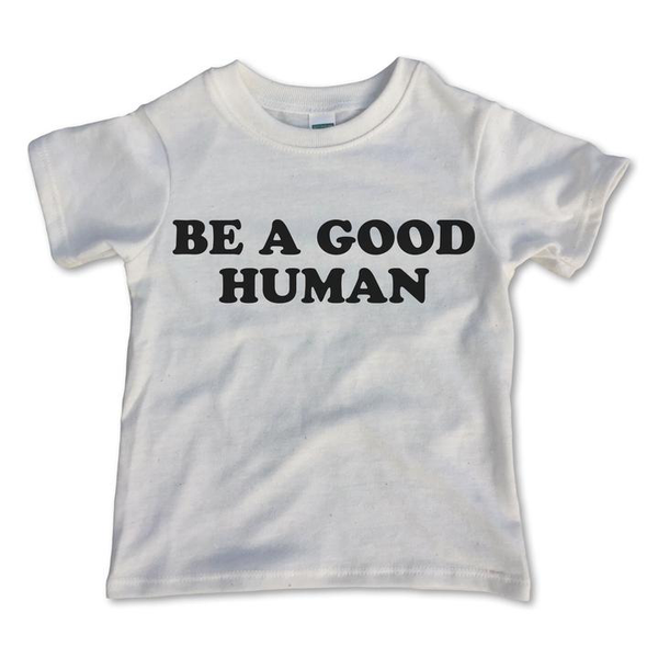 Rivet Apparel Co® Toddler | Youth Tee -Be a Good Human