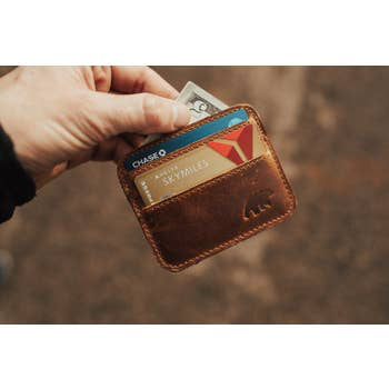 Kodiak Leather® Kenai Minimalist Wallet