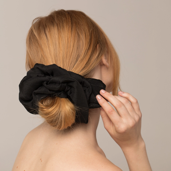 Kitsch® Black Dinner Scrunchie