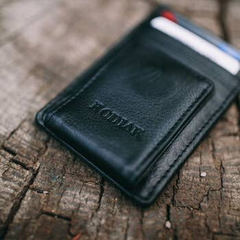 Kodiak Leather® Money Clip Wallet