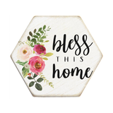 Sincere Surroundings® Coaster- Bless this Home