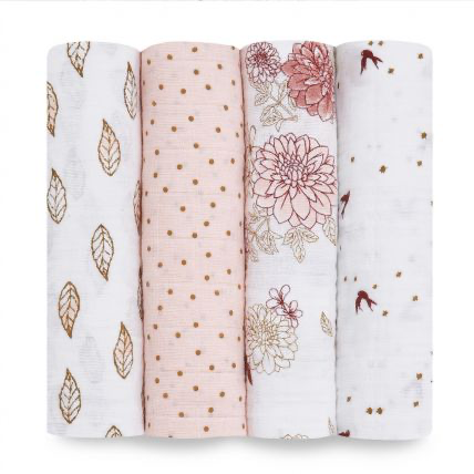 Aden+Anais® Classic 4 Pack Swaddles