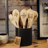 North to South Designs® Wooden Spoon