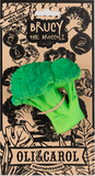 Oli & Carol® Teething and Bath Toy-  Brucy the Broccoli