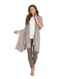 Barefoot Dreams® CozyChic Lite® Ribbed Travel Shawl