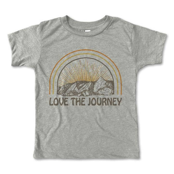 Rivet Apparel Co® Toddler | Youth Tee -Love the Journey