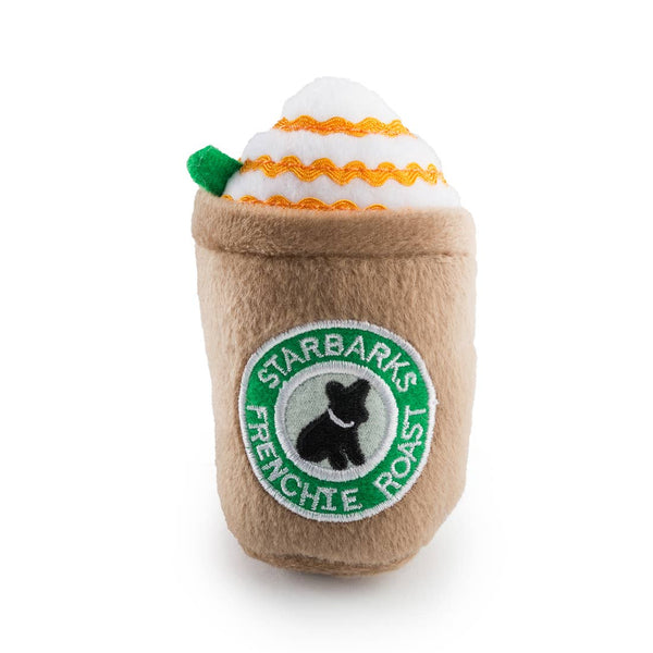Haute Diggity Dog® Starbarks Frenchie Roast Squeaker Toy