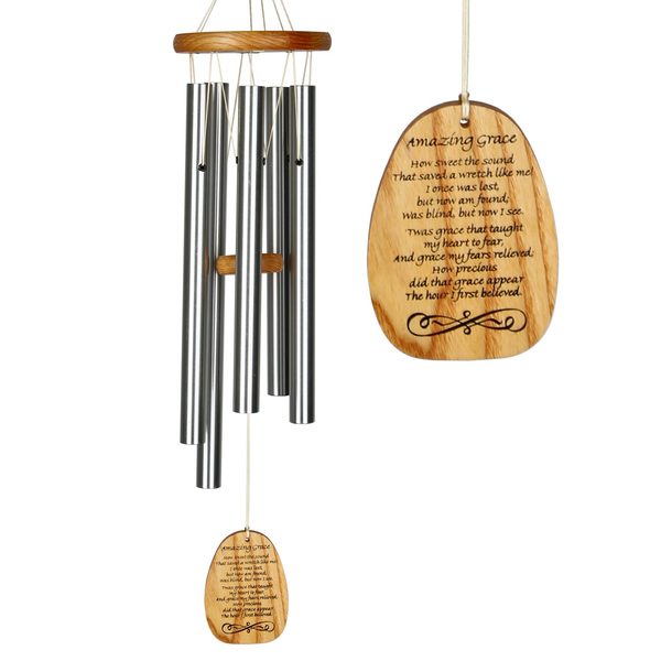Woodstock® Reflections Medium Silver Amazing Grace Chime