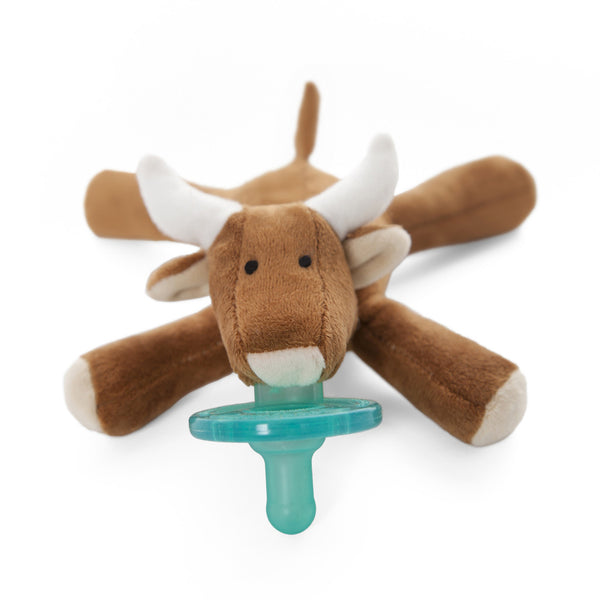 WubbaNub® Infant Pacifier - Longhorn Bull