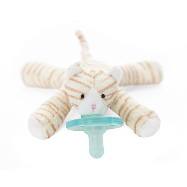 WubbaNub® Infant Pacifier - Tabby Kitten