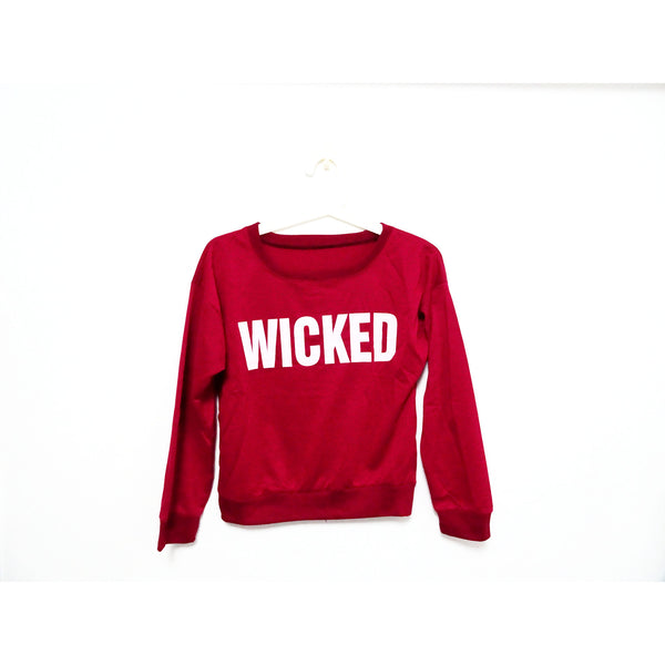 Wicked Cropped Pullover - One Cliq