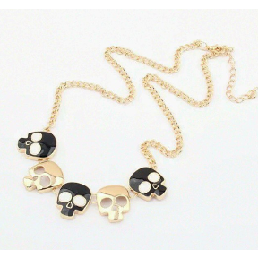 Skull Necklace - One Cliq