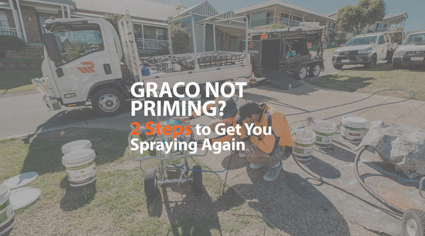 Graco Sprayer Not Priming? 2-Step Fix to Get You Spraying Again