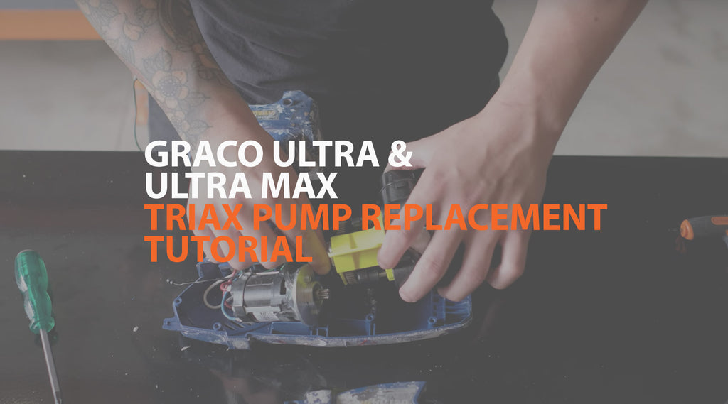 Graco Ultra & Ultra Max Triax Pump Replacement Tutorial