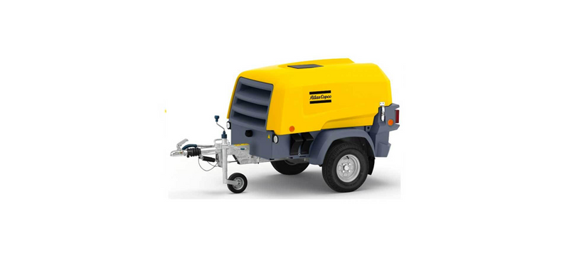 Atlas Copco 2-in-1 Compressor and Generator
