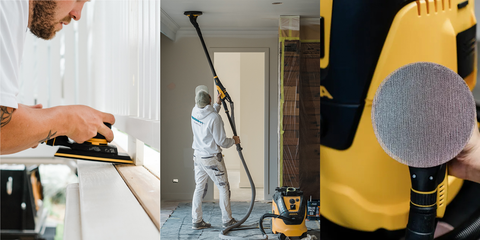 Mirka® Complete Dust Extractor and Sanding Kits