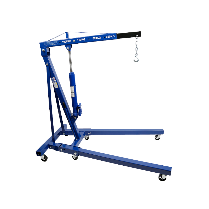 Tradequip Foldable Engine Crane 1T Rated 1001