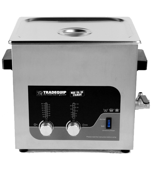Tradequip Ultrasonic Parts Cleaner 6 Litre 1036T