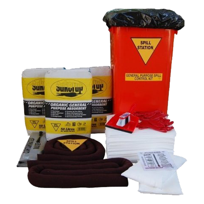 GO Industrial Workshop Spill Kit 200L TSSWKS