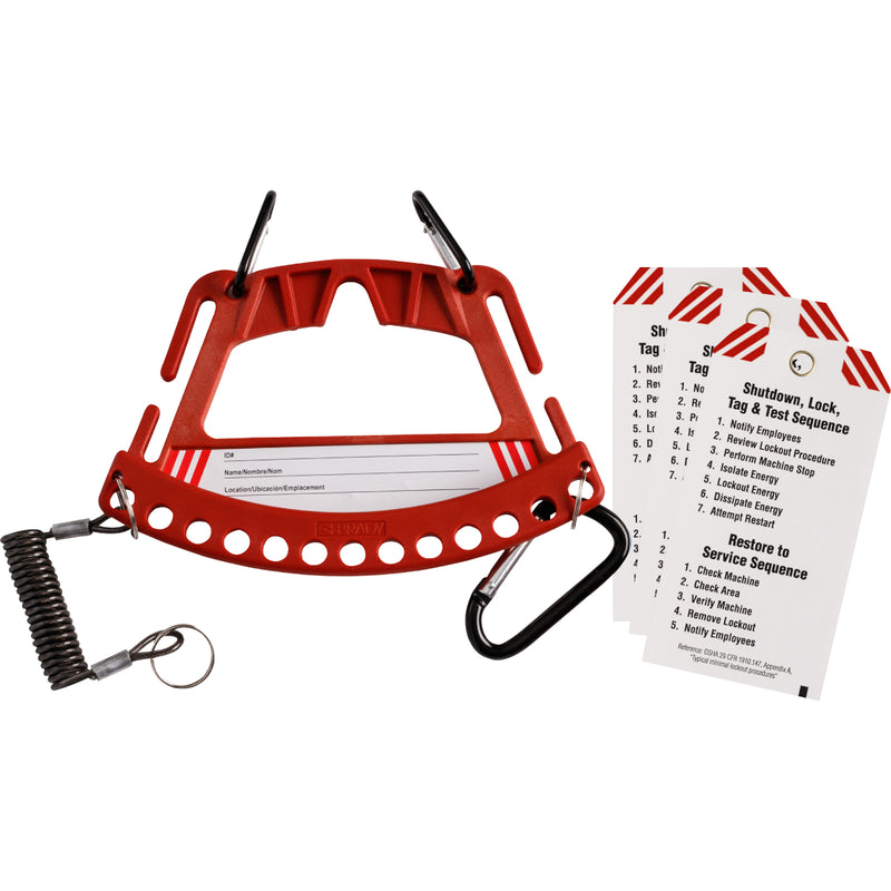 Brady Safety Padlock and Tag Carrier Range