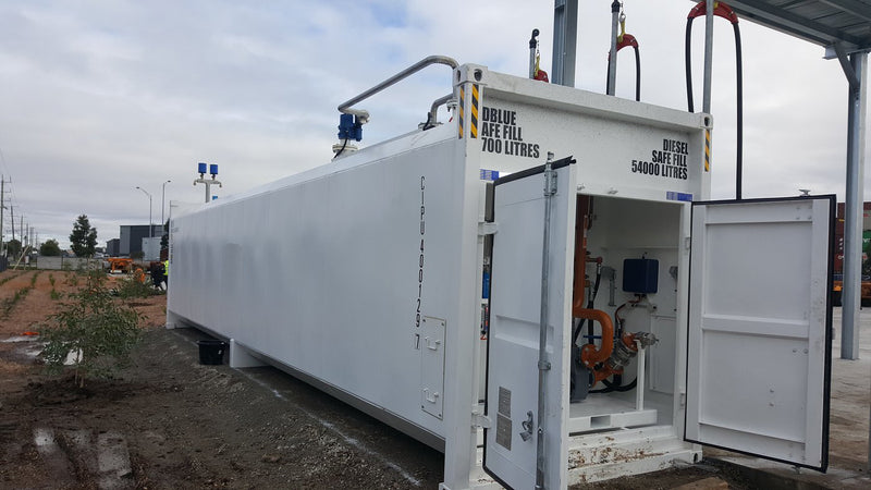 GO CONTAINERISED DIESEL / ADBLUE Self Bunded Tank Range