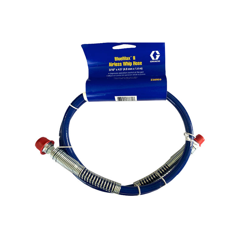238959 3/16in x 4.5ft. (4.8mm x 1.4m) Whip Hose (M x F)