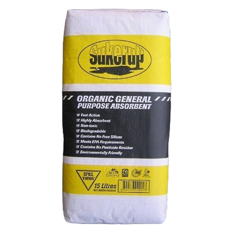 GO Industrial Organic General Purpose Absorbent 15L OA15L