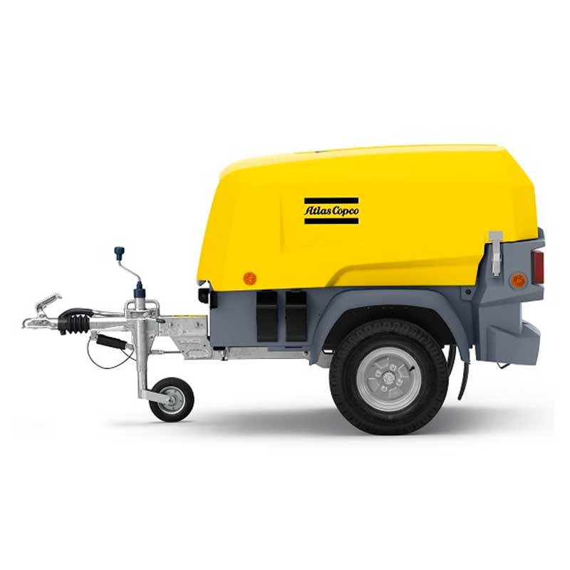 Atlas Copco Air Compressor Series 8 - XAS68 KdG Portable Towable Range