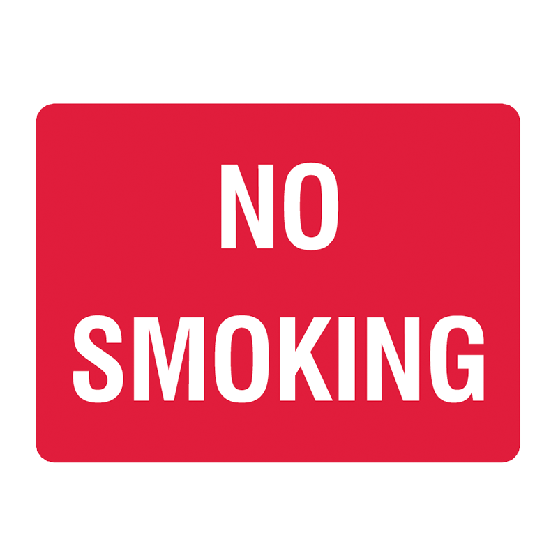 Brady General Prohibition Sign: No Smoking