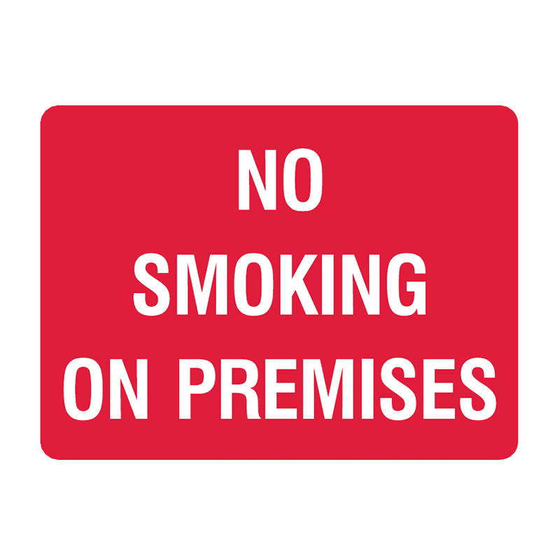 Brady General Prohibition Sign: No Smoking On Premises