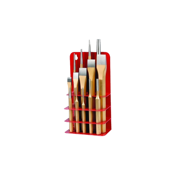 Tradequip Punch and Chisel Set 14pce 9072
