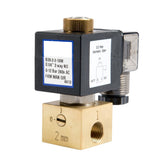 "GO Solenoid Valve 1/4"" B28 3 Way 2 Position Direct Acting Normally Open"
