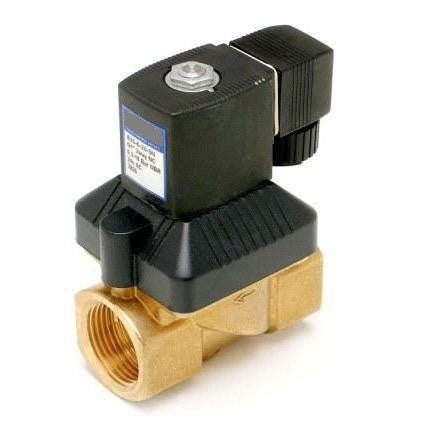 "GO Solenoid Valve 1/4"" to 2"" B35 Brass General Purpose Differential Normally Closed Range"