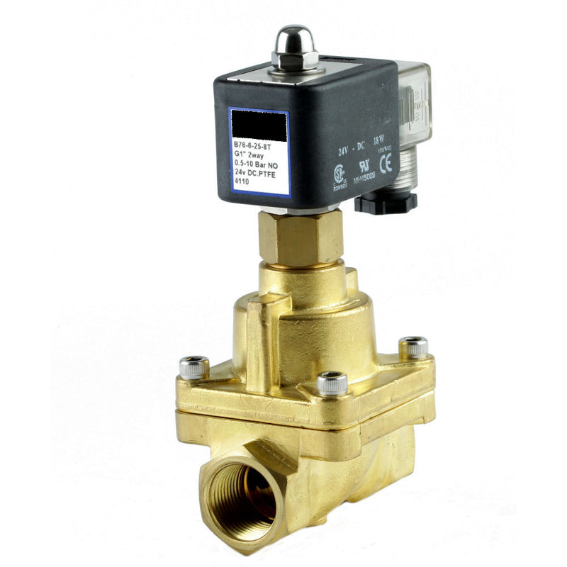 "GO Solenoid Valve 1/2"" to 2"" B76 Steam and High Temperature Normally Open Range"