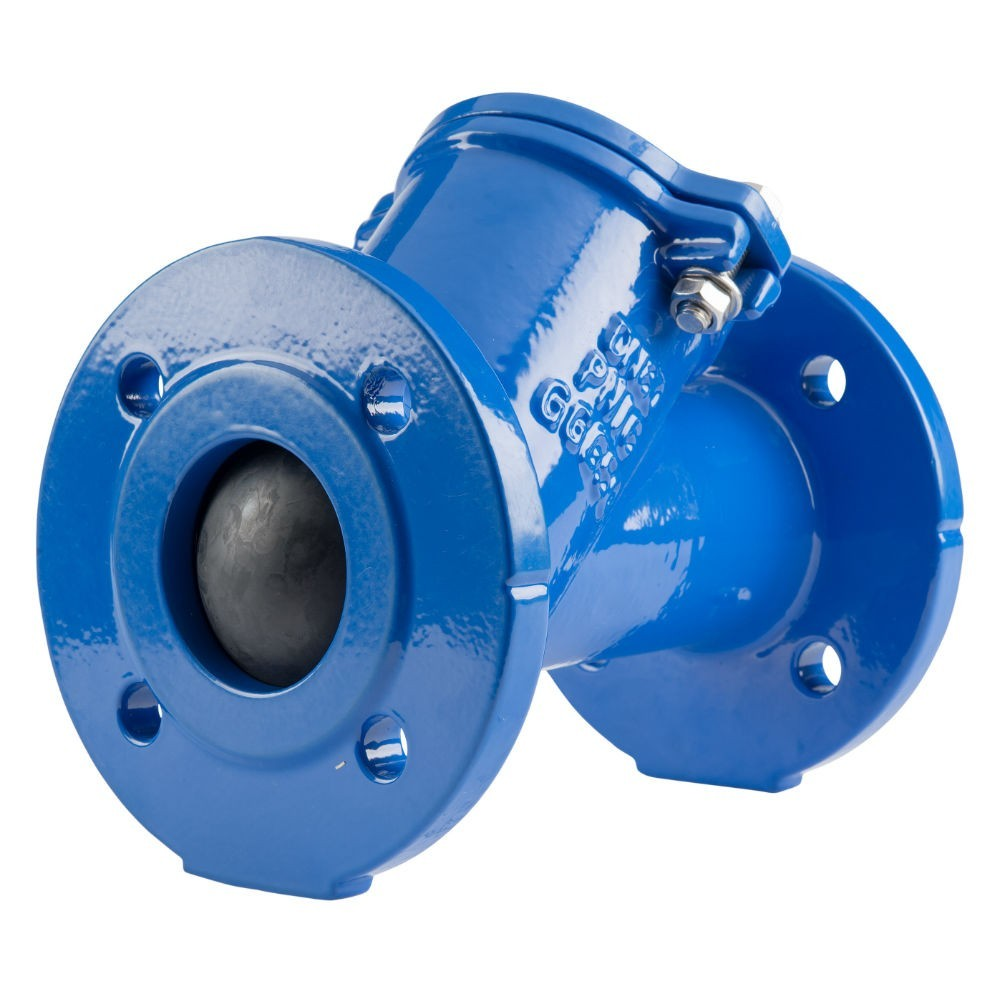 "GO Ball Check Valve Back Flow Prevention Ductile Iron 2"" to 12"" BCV Range"