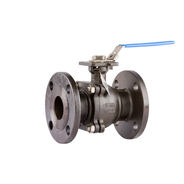 "GO BLCF Cast Steel Ball Valve Manual Flanged ANSI 150# Full Bore Fire Safe 1/2"" to 10"" Range"