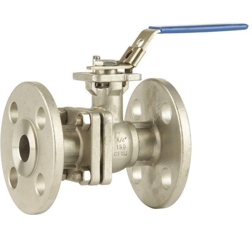 "GO BLSF 316 Stainless Ball Valve Manual Flanged ANSI 150# Full Bore Fire Safe 1/2"" to 10"" Range"