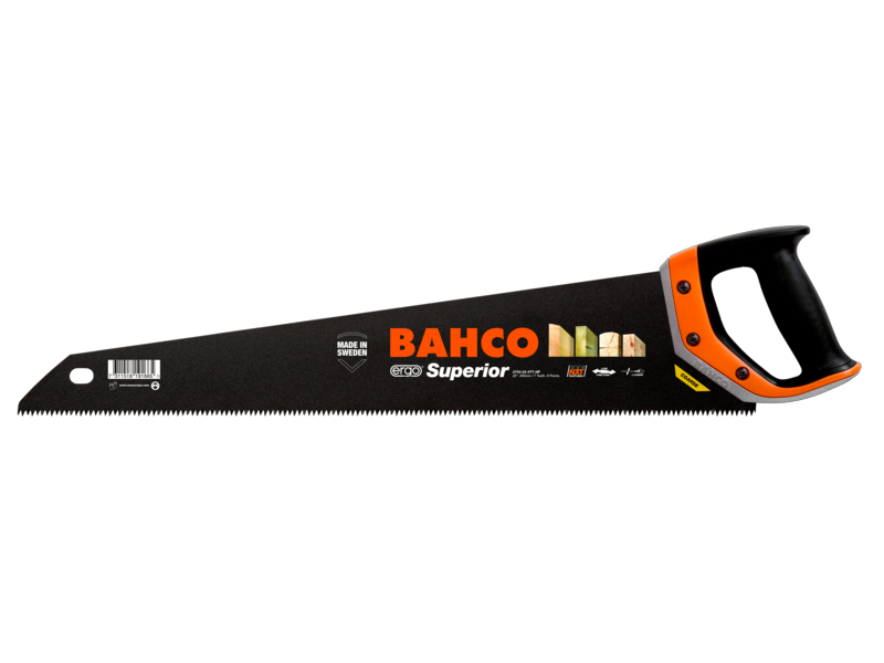 "Bahco XT Superior 24"" 600mm XT7 Tooth Handsaw"