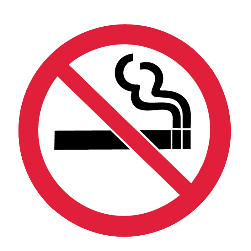 Brady Prohibitory Pictograms: No Smoking
