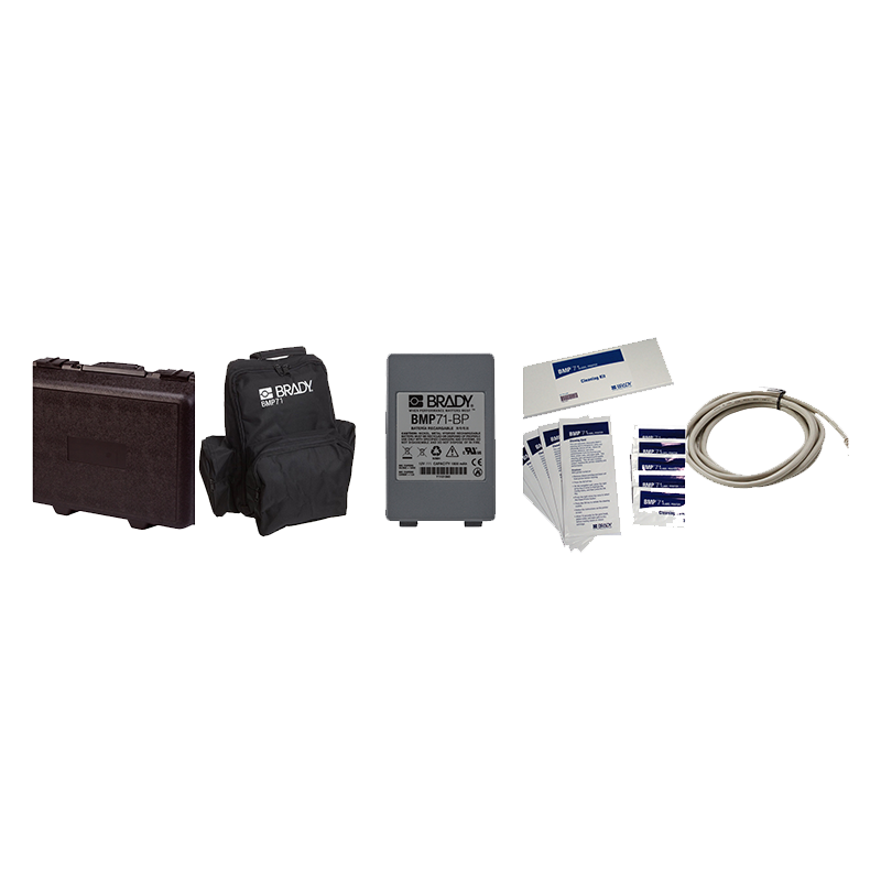 Brady Accessories for BMP71 Mobile Label Printer