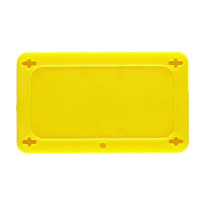 Brady Blank Plastic Valve Tag - Yellow Rectangular