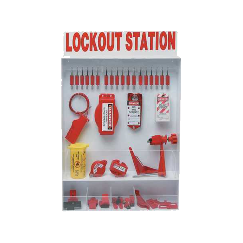 Brady Combination Wall Mount Lockout Station