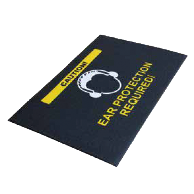 Brady Comfort Safety Message Mat Range