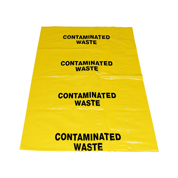 Brady Contaminated Waste Bags PKT of 10 Bags 852700
