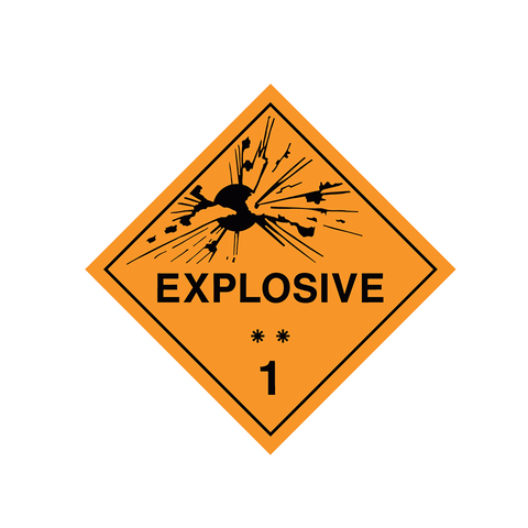 Dangerous Goods Label and Placards